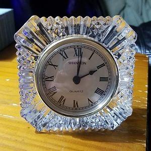 Shannon quartz CRYSTAL clock
